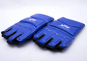 Накладки (перчатки) для тхэквондо синие, фото 2