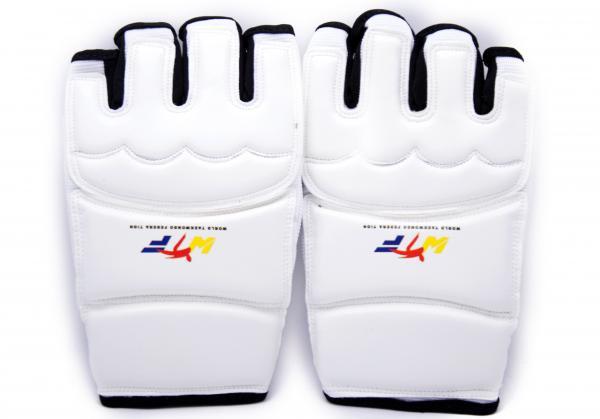 Накладки (перчатки) для тхэквондо белые