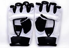 Накладки (перчатки) для тхэквондо белые, фото 2