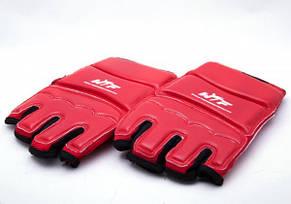 Накладки (перчатки) для тхэквондо красные , фото 2