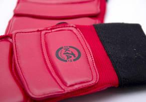 Защита стоп для тхэквондо красные, фото 2