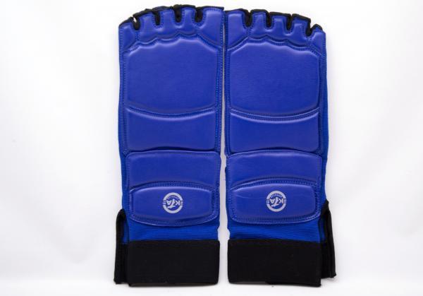 Защита стоп для тхэквондо синие