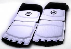 Защита стоп для тхэквондо белые [S], фото 2