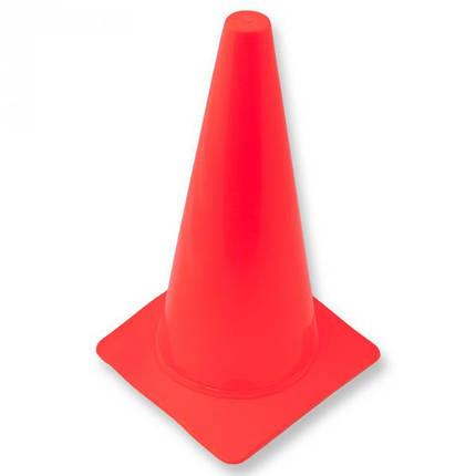 Конус тренировочный h35см оранжевый, фото 2