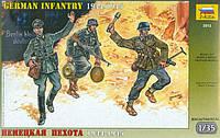 Сборная модель Zvezda (1:35) Немецкая пехота