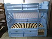 """Двухъярусная кровать """"Шотландец"""" (трансформер) Белый"""