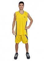 Баскетбольная форма Europaw желто-фиолетовая [2XL]