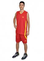 Баскетбольная форма Europaw красно-желтая [XL]