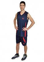 Баскетбольная форма Europaw т.сине-красаня [XL]