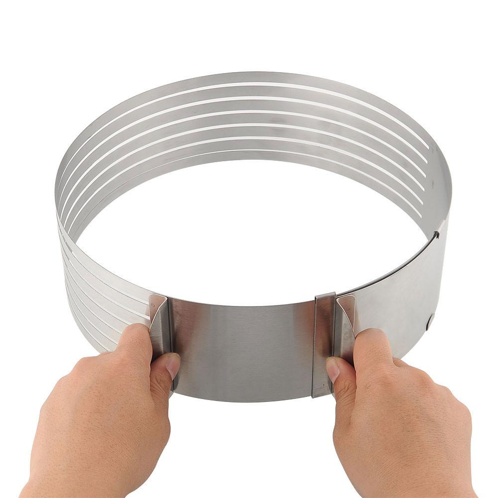 Раздвижное кольцо для нарезания бисквита (Большое)