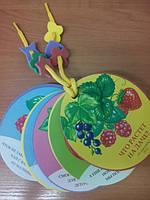 Мягкая книжка игрушка Что растёт на даче