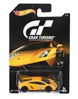 Автомобиль Hot Wheels серия Gran Turismo DJL12, Lamborghini Gallardo LP570-4 Superleggera Limited Edition