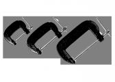 Набор струбцин G-образные SPARTA 206755