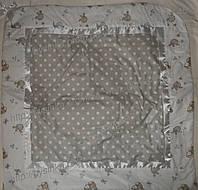 """Конверт-плед-одеяло на выписку новорожденного """"Птички"""" № 2"""