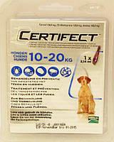 Merial Certifect (Сертифект) Спот-он для собак, (10-20кг) моно піпетка.