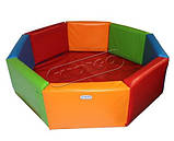 Сухой бассейн KIDIGO™ Восьмиугольник 1,5 м, фото 2