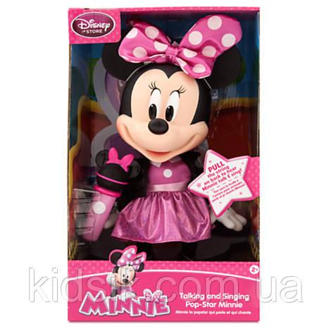 Поющая кукла «Поп звезда Минни Маус» (32 см), фото 1