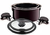 Комплект посуды Tefal Ingenio L4719602 включая Горшки с крышками и ручками (Диаметры 20/24 см) Fig-Coloured En