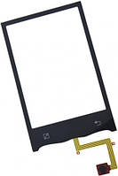 Сенсор (тач скрин) LG Optimus GT540 black (оригинал)