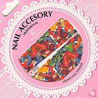 Слайдер-дизайн для ногтей Nail Accesory 1572