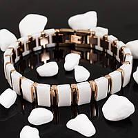 Белый керамический браслет (Длина: 21см)