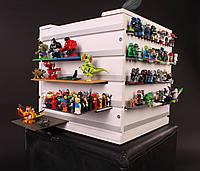"""Куб для хранения минифигурок LEGO 'Вавилон"""" (на поворотной платформе)"""