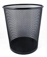 Корзина для мусора Eco-Eagle металлическая сеточка 29,5 x 34,5 см, цвет черный