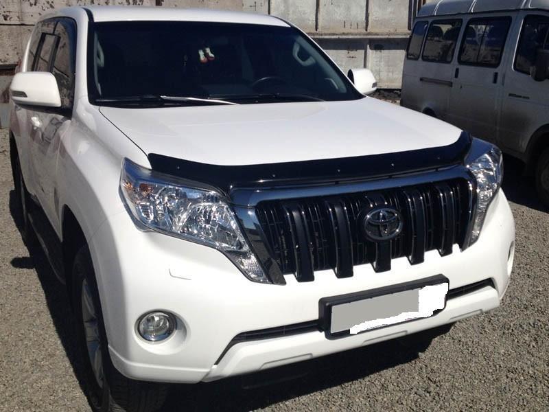 Дефлектор капота VIP TUNING Toyota Land Cruiser Prado 150 2013- /рестайлинг