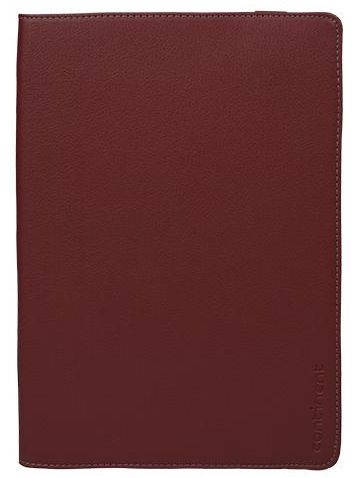 Стильная подставка-чехол для планшета Universal 9.7'' из искусственной кожи Continent UTH-101RD темно красный