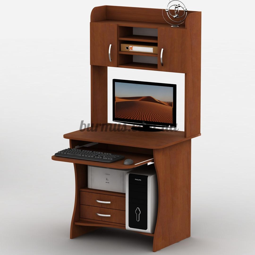 Компьютерный стол с выдвижными ящиками, Тиса-14, 80*60, яблоня-локарно - ЧП Бурмус в Полтаве