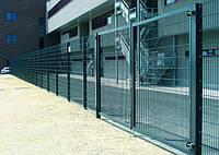 Ограждения секционные. Заборы с полимерным и оцинкованным покрытием.