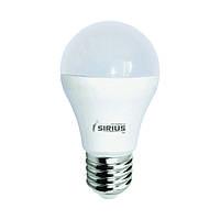 LED лампа Siriusstar А60 классика 8W E27 3000K (1-LS-2105) 720Lm