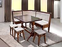Стол обеденный с табуретками Семейный