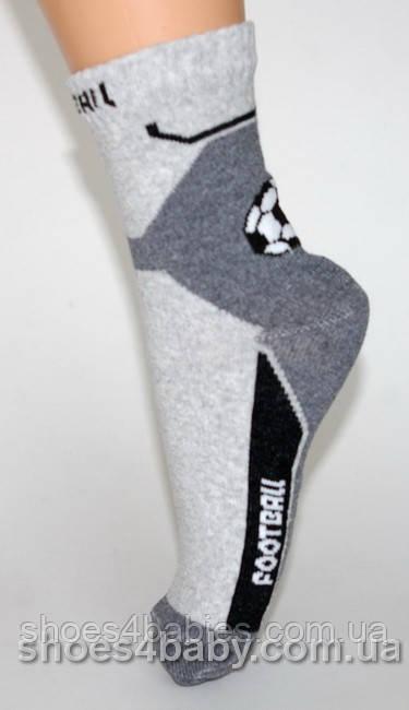 Носки для мальчиков р. 35-38 с лайкрой стиль спорт