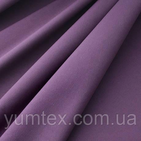 Однотонная хлопковая ткань Канзас, 75 % хлопок, цвет фиолетовый