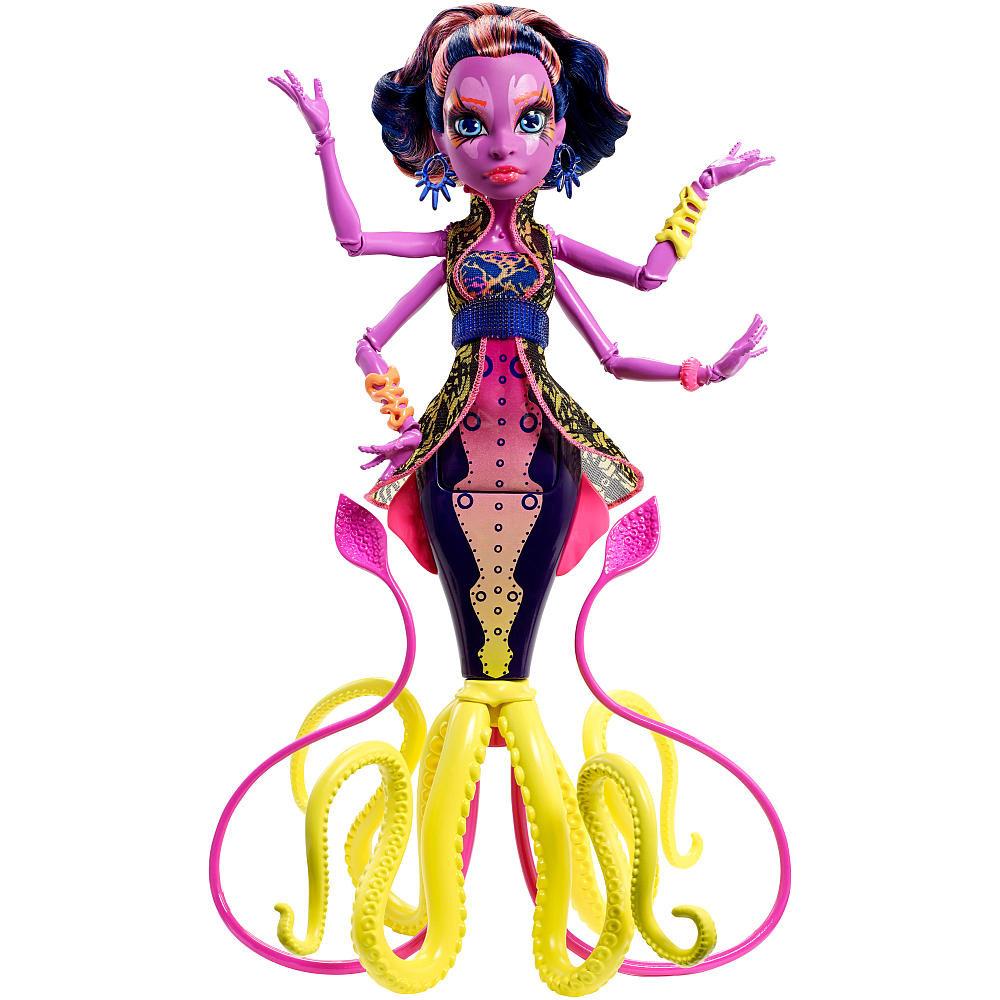 Mattel Monster High Кукла Кала Мери (Kala Mer'ri) - Большой Кошмарный