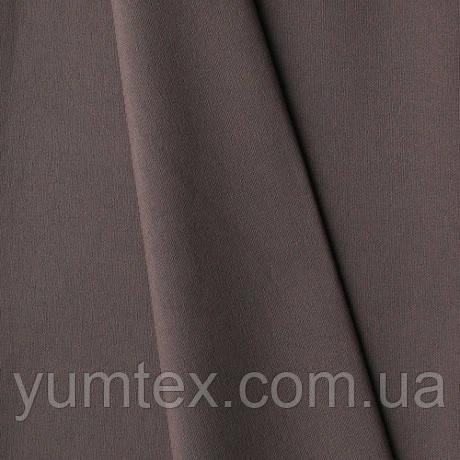 Однотонная хлопковая ткань Канзас, 75 % хлопок, цвет сизый