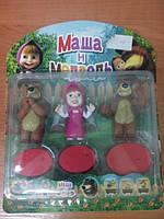 Игровой набор из пластизоля Маша. Уценка