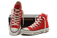 Кеды Converse All Star Replica высокие красные