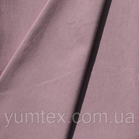 Однотонная хлопковая ткань Канзас, 75 % хлопок, цвет аметист