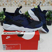 Новинка! Кроссовки Nike Air Huarache Ultra 819685-403 Blue-White
