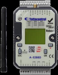 Контролер А-5290D (2DI, 2AI (0/4-20mA), 2AI(PT100: -50...+200C), Wi-Fi, LCD-дисплей, USB2.0x1, MODBUS RTU)