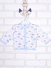Кофточка детская, голубые Тучки