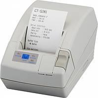 Citizen CT-S 281 чековый принтер 58 мм с автообрезкой, термопринтер чеков и этикеток