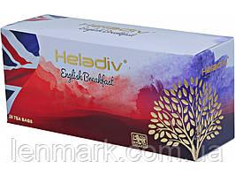 Черный чай Heladiv ENGLISH BREAKFAST Английский завтрак 25 пакетиков