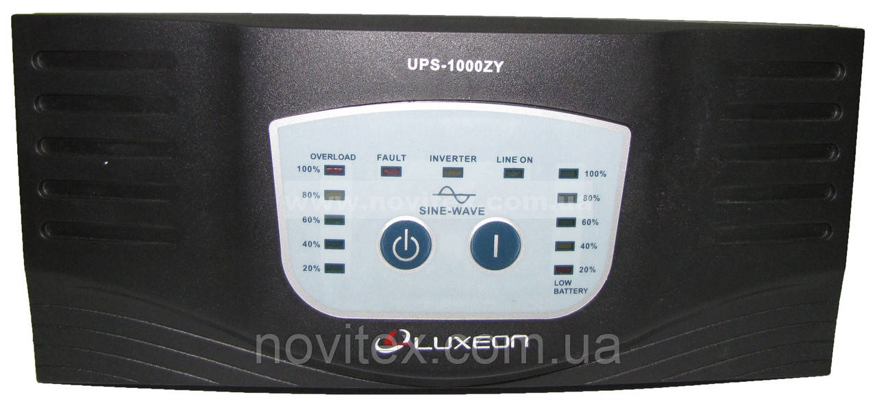 ИБП Luxeon UPS-1000ZY (600Вт), фото 1
