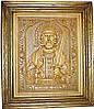 Икона деревянная резная Святого князя Игоря Черниговского