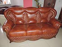 Кожаная мягкая  мебель, кожаный дива Sorento