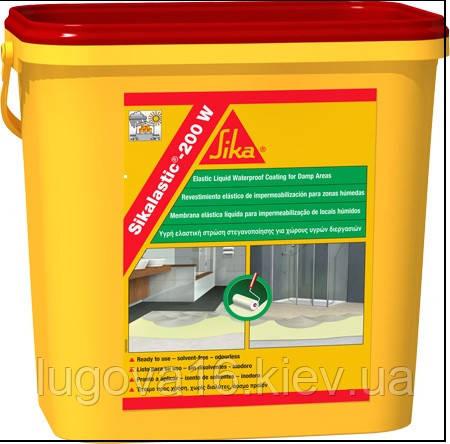 Гидроизоляционное покрытие для  влажных помещенийSikalastic-200 W, 5 кг