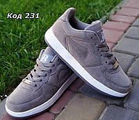 Кросовки серые копия Nike. Польша